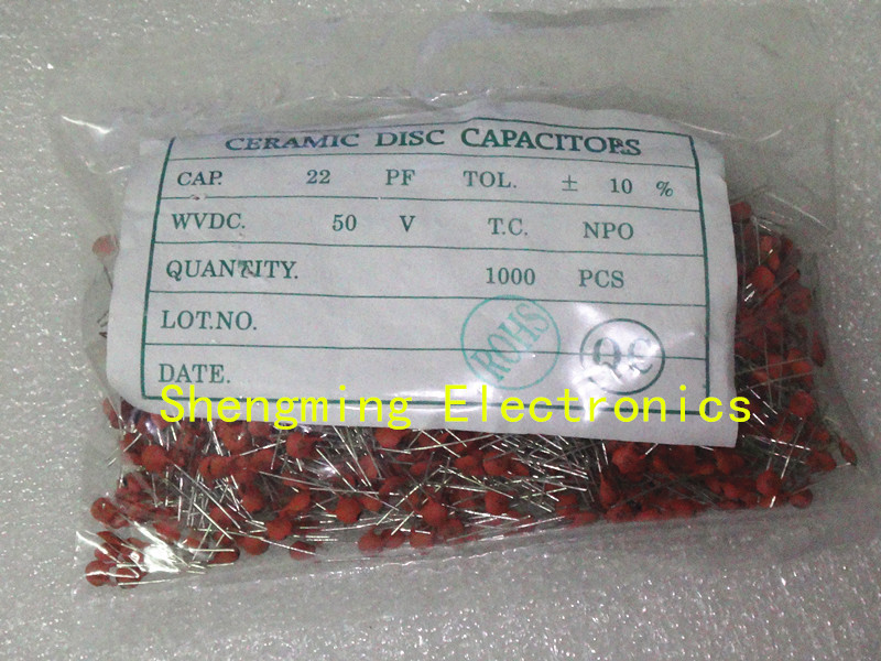 100pcs //-0.5pF NP0 THT CERAMIC CAPACITOR SUNTAN 1.5pF 50V
