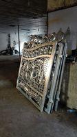 Wrought Iron Gate For Auto Parking Luxury Villa Wrought Iron Gates