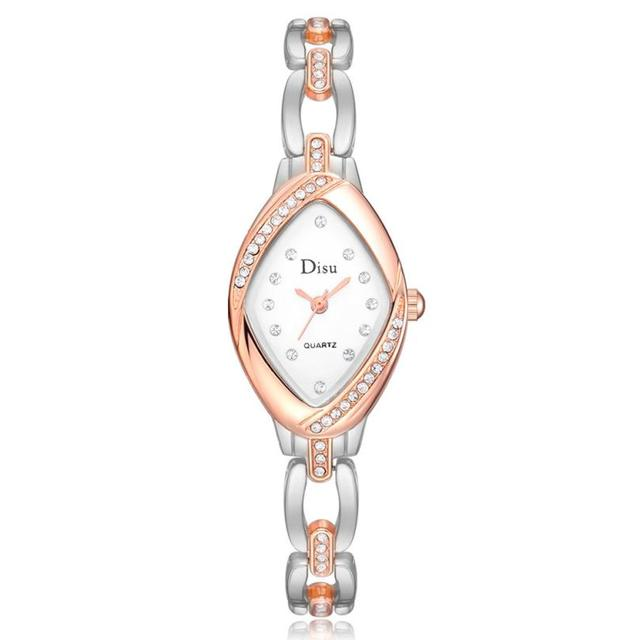 Brand Fashion Wristwatches Women Bracelet Watch Ladies Rose Watch Watch Diamond