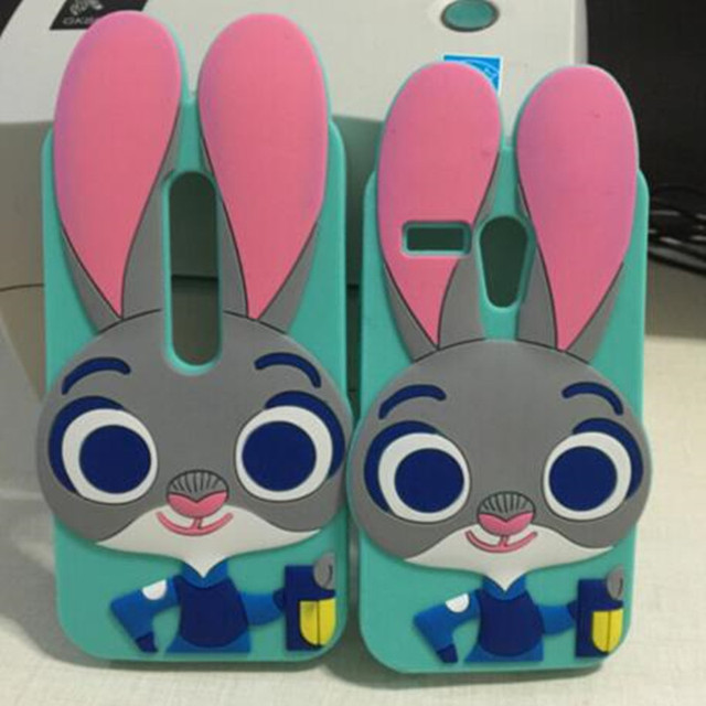 New Fashion Lovely Crazy City 3D Cartoon Case For Motorola Moto G2     New Fashion Lovely Crazy City 3D Cartoon Case For Motorola Moto G2 G3  Zootopia Rabbit Judy