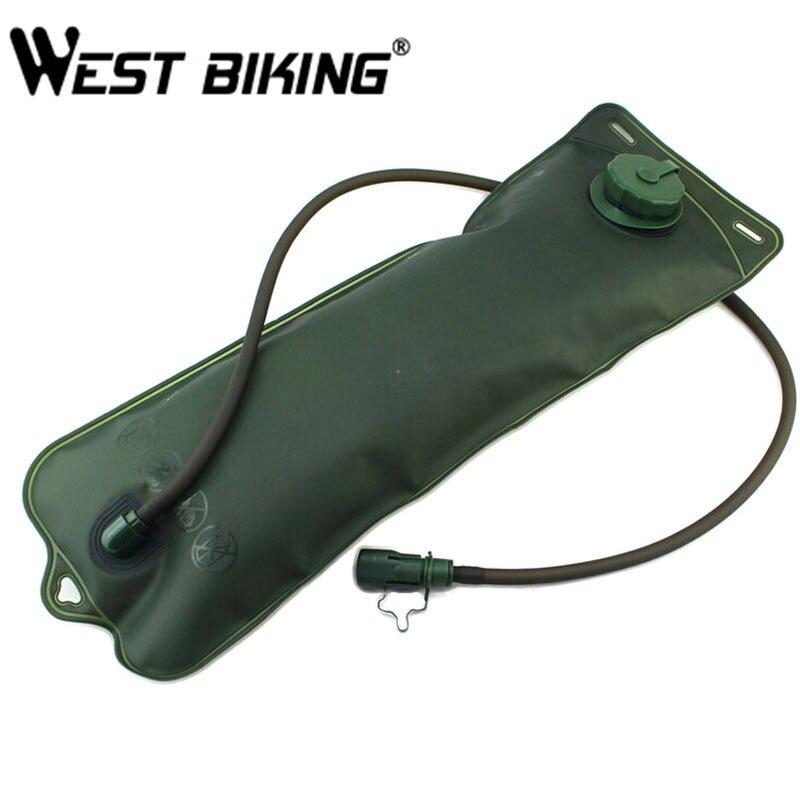 WEST BIKING 3L Water Bag Outdoor Folding Bike Moutain Hiking Mountain Camping Bag Hydratation Camelback Water Bag Water Bladder
