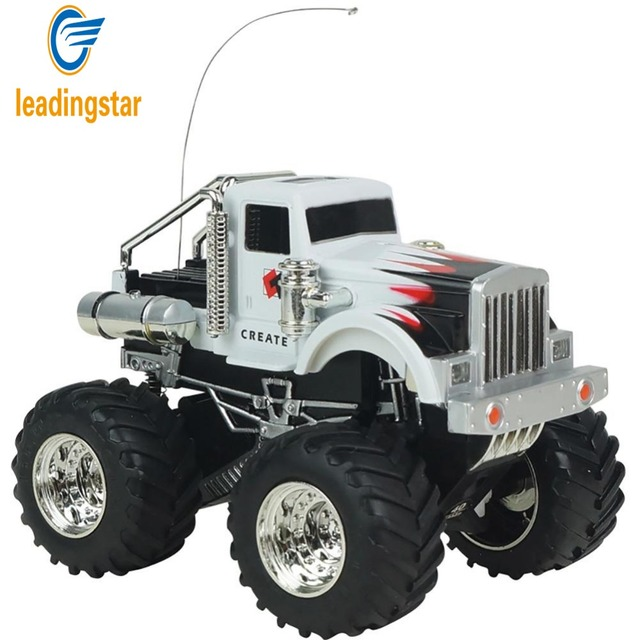 LeadingStar Remote Control Rock Crawlers Bigfoot Car 4 Channel 1:43 Scale RC Off-road Vehicle Model Toy Gift for Kids zk30
