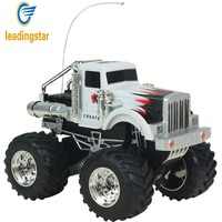LeadingStar Remote Control Rock Crawlers Bigfoot Car 4 Channel 1 43 Scale RC Off Road Vehicle