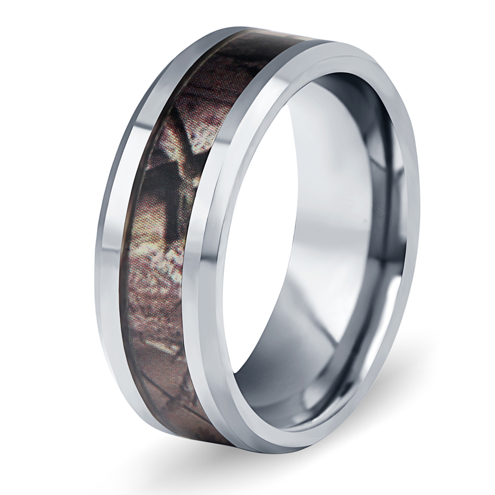 Fashion Jewelry Mens Tungsten Steel Wedding Rings 8mm Wood Grain Band Us Size 7 To 10 Drop Shipping 1pcs Price In Bands From Accessories