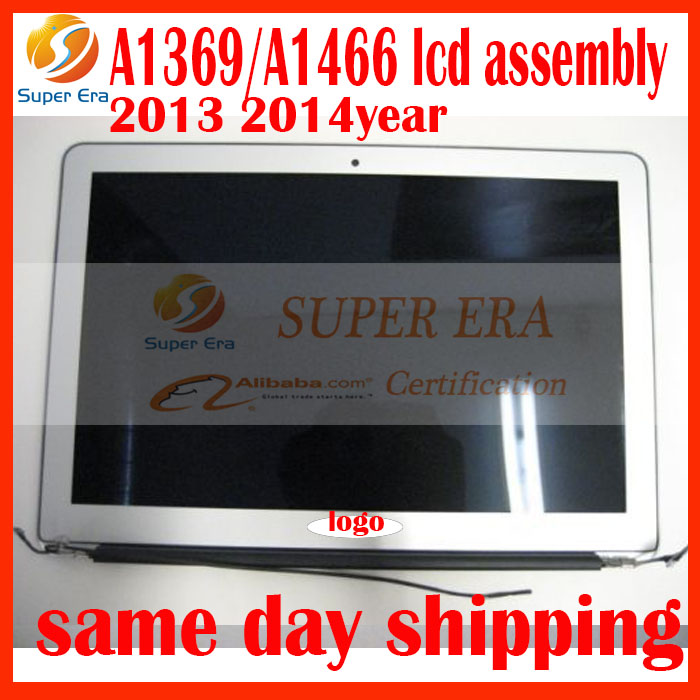Original New 661-7475 Mid 2013 2014 2015 Full LCD SCREEN DISPLAY ASSEMBLY FOR Macbook Air 13'' A1369 A1466 LCD Screen assembly hsw rechargeable battery for apple for macbook air core i5 1 6 13 a1369 mid 2011 a1405 a1466 2012
