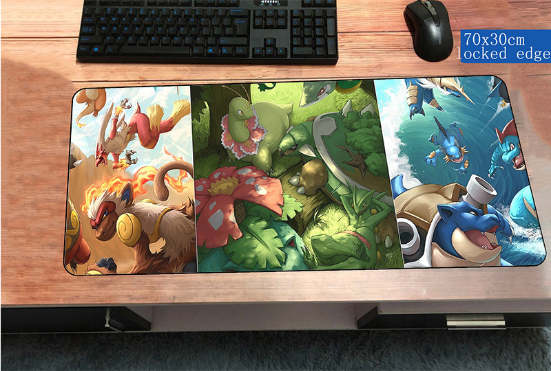 POKEMON LARGE MOUSEMAT XL PAD GAMING MAT FOR PC,LAPTOP,XBOX//PS4 CONTROLLER