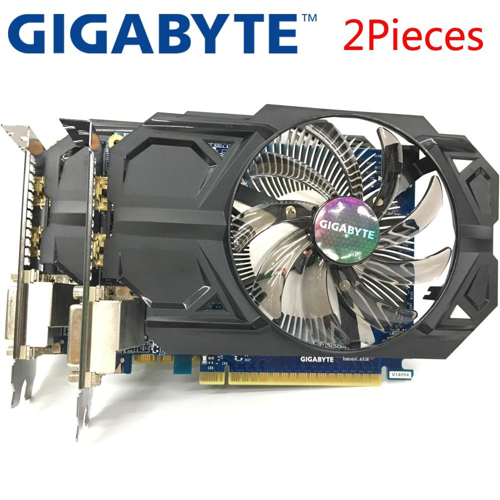 Analytisch Gigabyte 2 Stück Grafikkarte Original Gtx 750 Ti 2 Gb 128bit Gddr5 Video Karten Für Nvidia Geforce Gtx 750ti Hdmi Verwendet Vga Karten Auswahlmaterialien