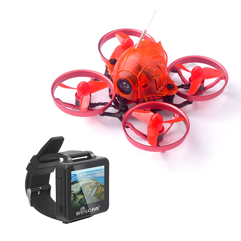 Mini Snapper6 BNF Whoop Brushless Racer Drone Tiny 65mm With FPV 2 Inch 5.8G 32CH HD Watch Frsky / Flysky Receiver RX Parts радиоуправляемый квадрокоптер betafpv beta65s whoop quad frsky rx bnf