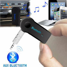 ENKLOV  Handsfree AUX Bluetooth Receiver C Speaker Auxiliary Car Adapter