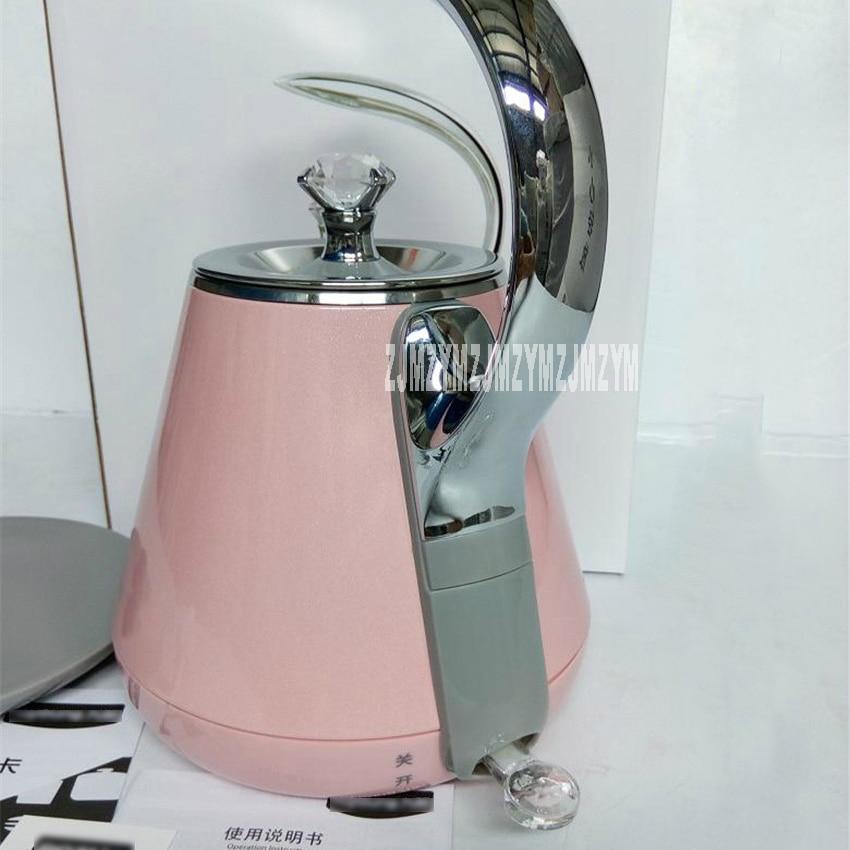 K12-F3 / K17-W6 open water pot electric kettle 304 stainless steel 1.2L Princess Starlight pot 220V / 1500WK12-F3 / K17-W6 open water pot electric kettle 304 stainless steel 1.2L Princess Starlight pot 220V / 1500W