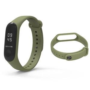 Image 4 - Bracelet Mijobs Mi Band 3 4 Strap Bracelet Silicone Wristband Miband 3 Strap Smart mi band3 Wrist for for Xiaomi Mi Band 3 Strap