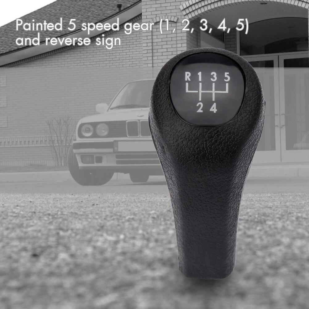 5 speed manual gear shift knob stick head for bmw e30 e34 e36 e38 e39 e46