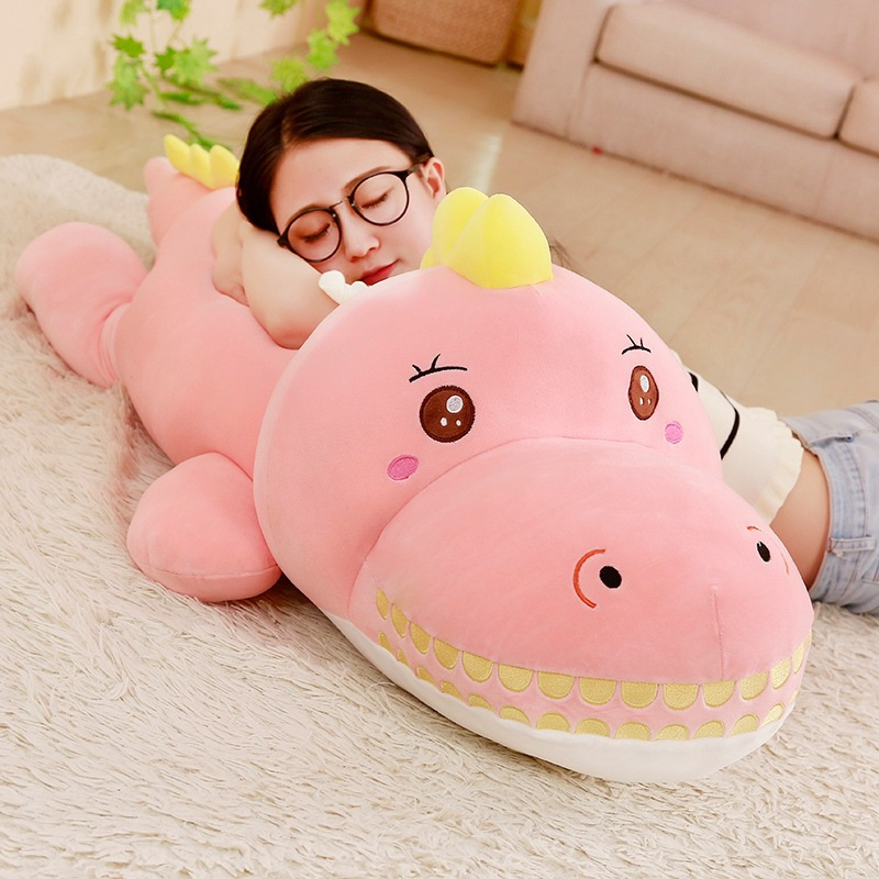 new style large 120cm cartoon dinosaur plush toy down cotton soft doll sofa cushion sleeping pillow christmas gift s2857new style large 120cm cartoon dinosaur plush toy down cotton soft doll sofa cushion sleeping pillow christmas gift s2857