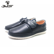 Qwest 2019  Arrival Spring & Autumn sneakers for boys Slip-on Fashion High Quality School shoes size 35-40 92T-JSD-1490/1491