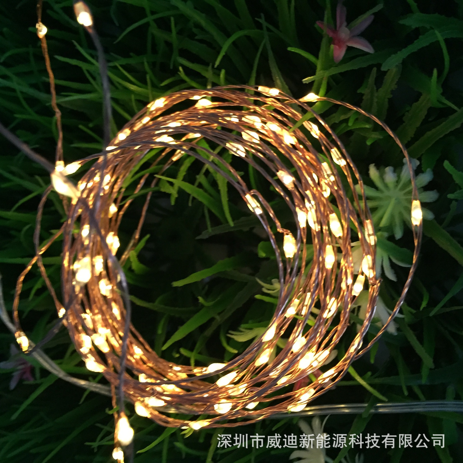 Lampu Energi Surya Berkedip 100led Tembaga Luar Solar Powered Garden Decoration Light 100 Led 12 Meter Hias Taman Halaman Dekoratif Di String Pencahayaan Dari Aliexpresscom