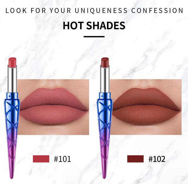 Waterproof Natural Matte Lipstick Long Lasting Makeup
