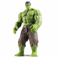 Big Size 42CM Action Figure Toys The Avengers Movie Superhero Giant Hulk Real Pants PVC Model Dolls