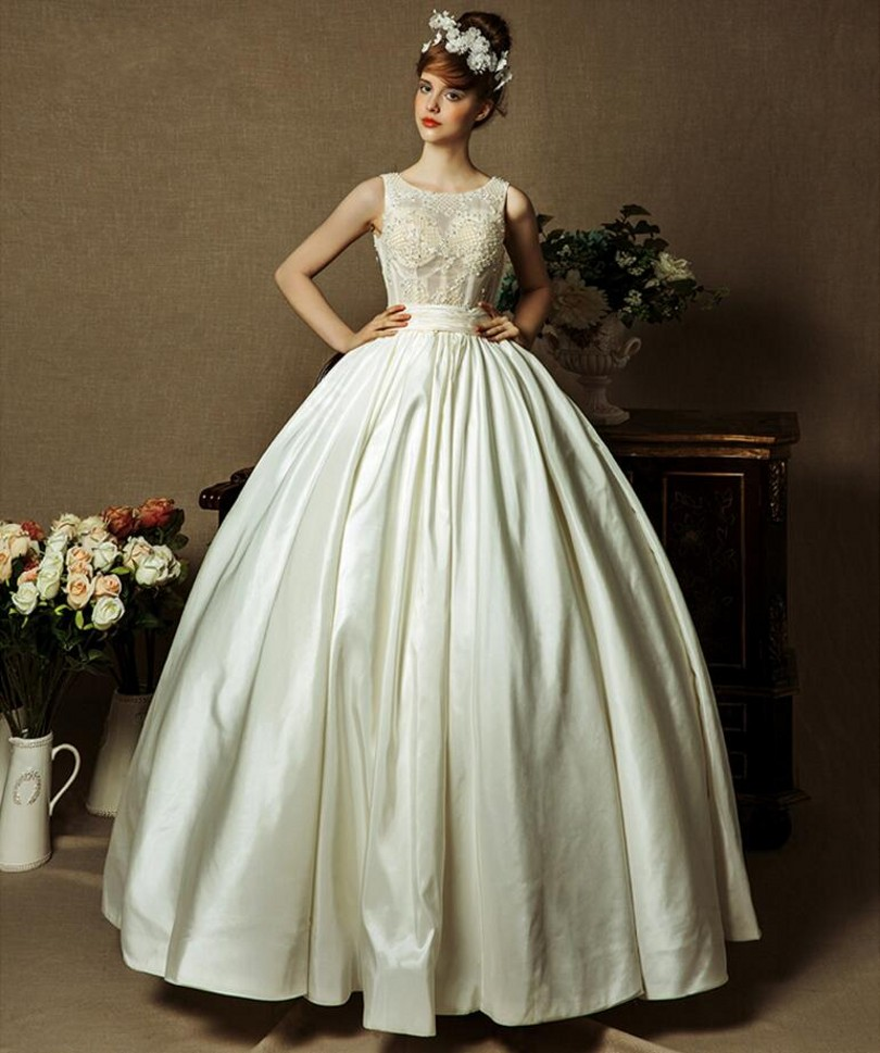 8 Most Unique Wedding Party Ideas In 2018: New Ball Gown Wedding Dresses 2018 Floor Length Bridal