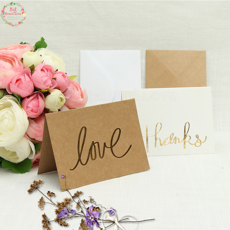 1set love and thanks invitation card birthday party rsvp