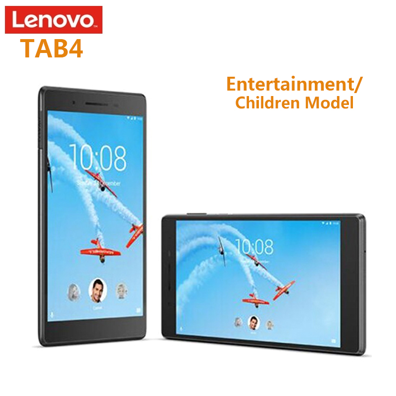NEW Lenovo TAB4 TB-7304N 4G Phablet 7.0'' 1GB+16GB Dual Cam Tablets PC Android 6.0 MT8735 Quad Core Tablets 5MP GPS MIC For kids