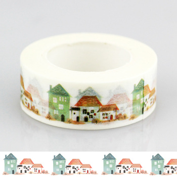 10 шт./лот кантри дом васи лента японская клейкая лента клейкие наклейки с лентами канцтовары оптом