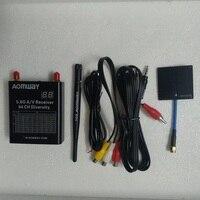 Aomway DIV006 V4 5.8G Antenna Receiver DVR 64 Channels Diversity