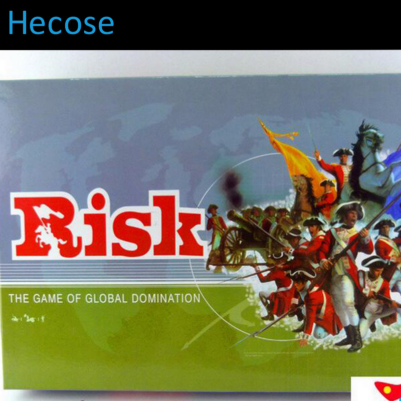 board game risk, full english version, high quality, very suitable for the party risk communication risky business in a risk society