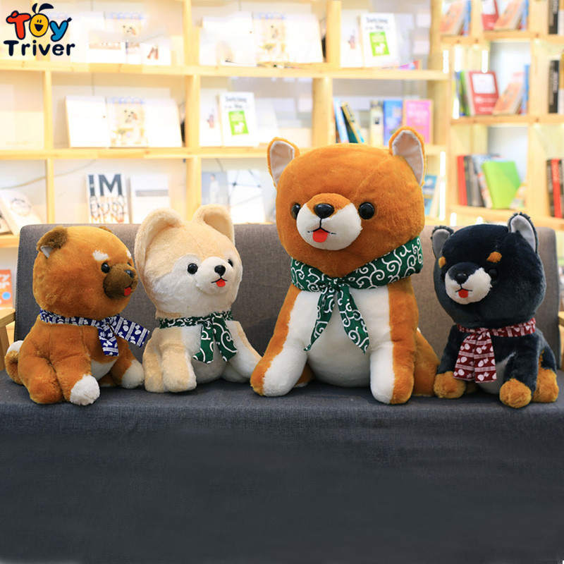 Plush Japan Sitting Mameshiba Sankyoudai Loyal Dog Shiba Inu Toy Stuffed Toys Doll baby Kids Birthday Gift Shop Home Decoration creative akita dog shiba inu plush toys imitation dog doll cartoon birthday gift 40 60cm