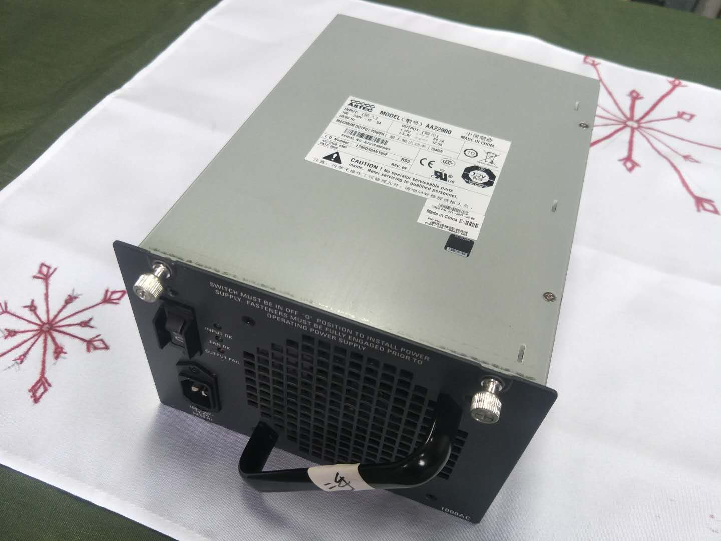 Used PWR-C45-1000AC Power Supply For WS-C4506 4503-E
