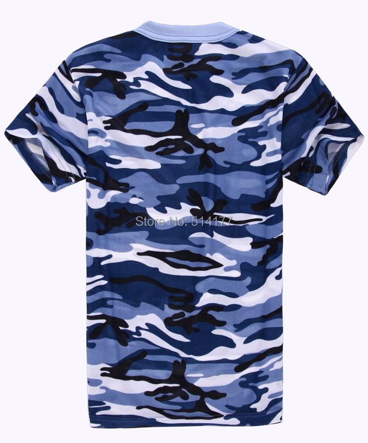 T-shirt Mannen 2016 nieuwe stijl mode camouflage korte mouw T-shirt, - Herenkleding - Foto 3