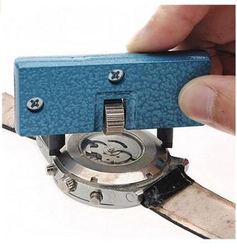 GEMIXI narzędzia do zegarków Hot unikalne na godziny regulowany otwieracz obudowa tylna naciśnij bliżej Remover naprawa narzędzie zegarmistrza Drop Shipping tanie i dobre opinie CN (pochodzenie) TOOLS steel Repair Tools Kits High Quality Watch Tools Horloge Gereedschap Watches Watch Repair Tool Kit