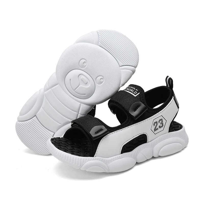 2019 boys Summer Sandals cute bear