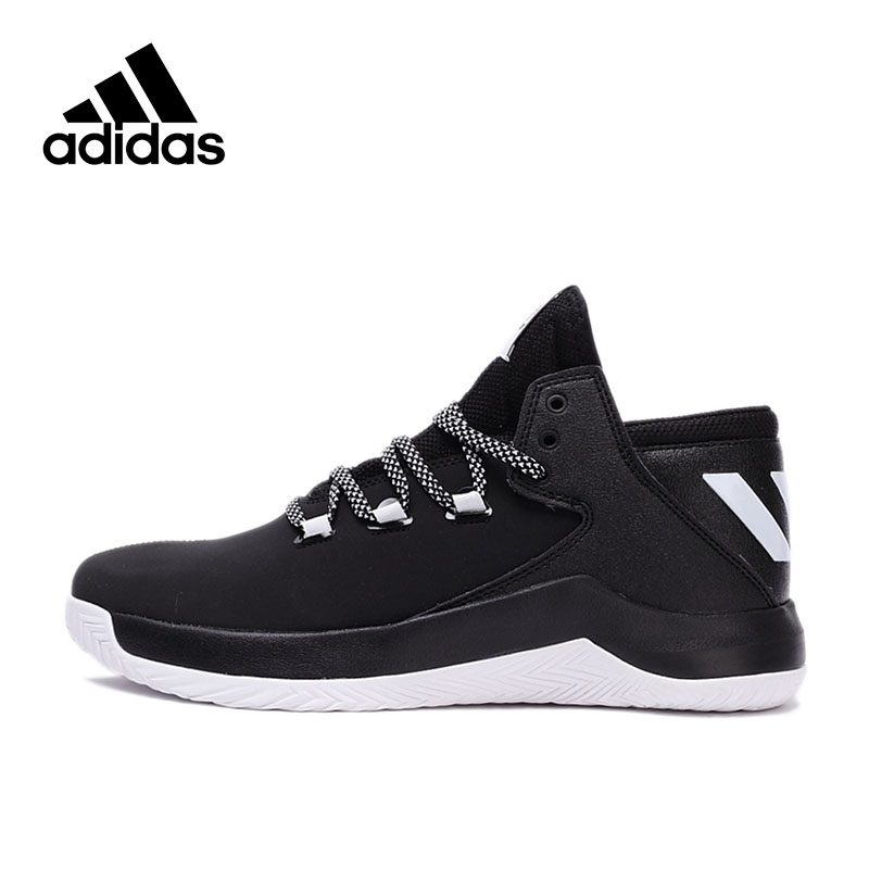 Official New Arrival Authentic Adidas Men's High top Basketball Shoes Sneakers Breathable Non-slip наушники panasonic rp hje190e w