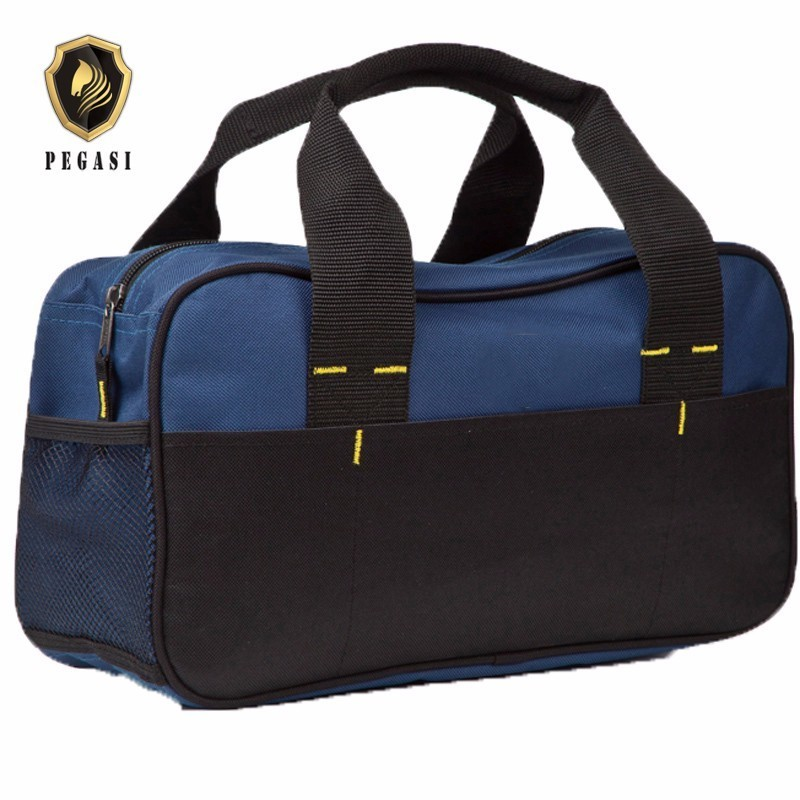 PEGASI Waterproof Wearable Oxford Blue Portable Handbags Mechanic Tool Tools Bag Durable Wear-resistant High Reliability