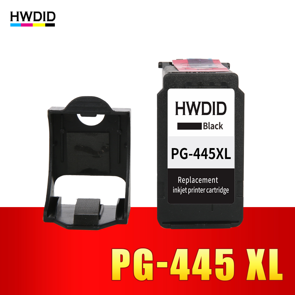 pg-445 PG 445 XL cartridge ink For Canon PG 445 PG-445 PG-445XL Ink Cartridge Compatible for MX494 MG 2440 2540 2940 IP445 free shiping for isuzu d max black front