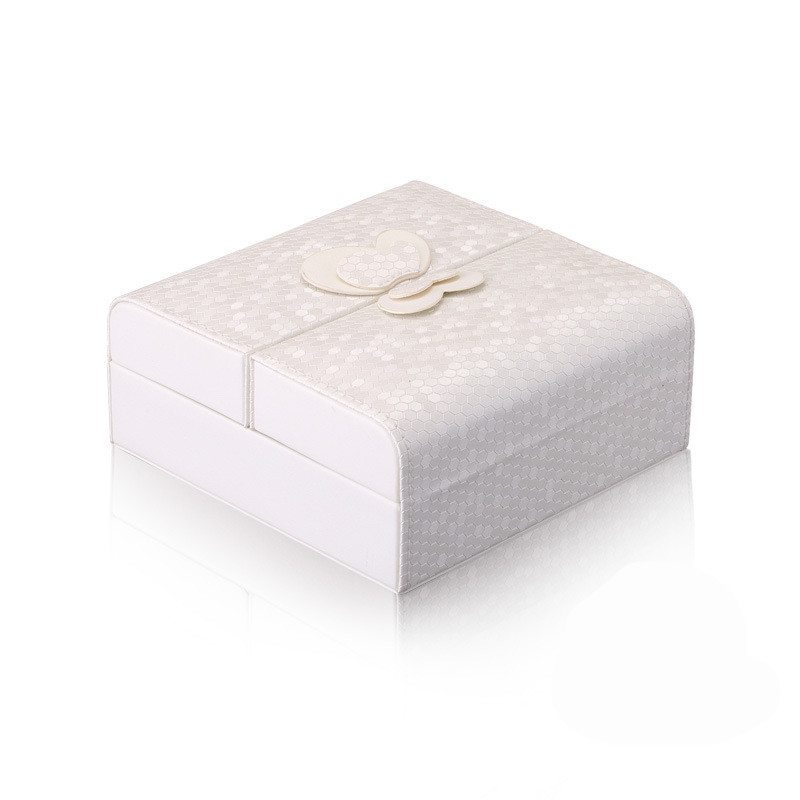 Jewelry Organizer Packaging Box Casket Exquisite Makeup Case Cosmetics Beauty Storage Container Boxes Christmas Gift White Color jewelry box european style makeup case cosmetics beauty organizer wedding birthday gift earrings necklace jewelry storage box