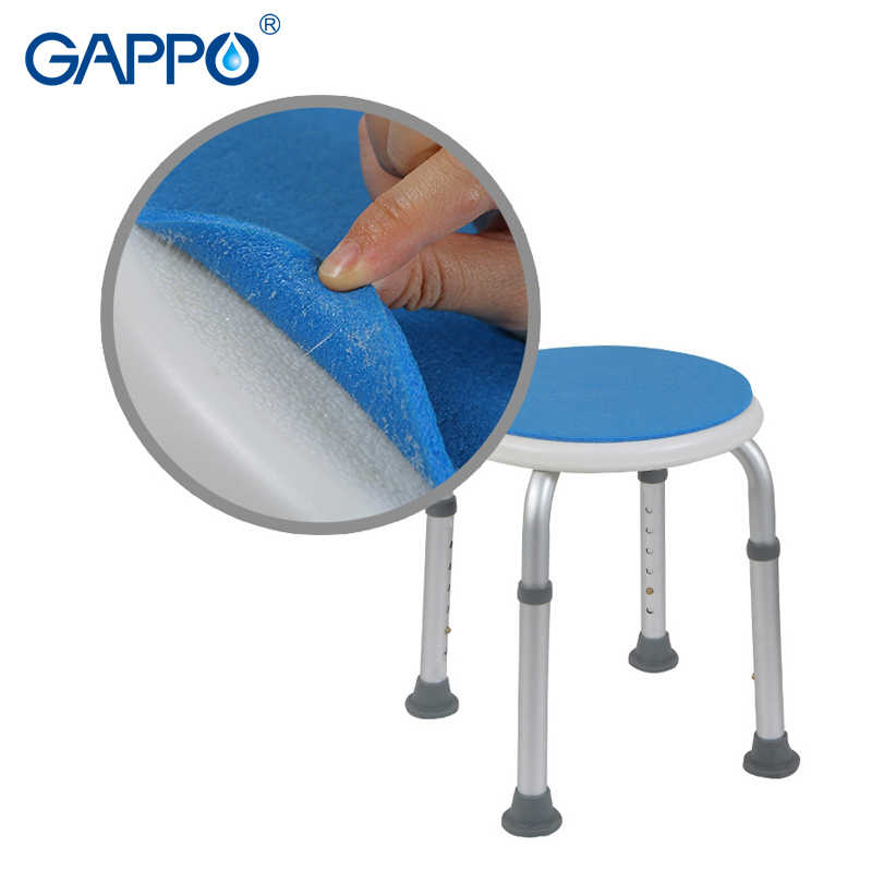 GAPPO настенное сиденье для душа туалетные Тренеры ванная комната высота регулируемая ванная комната сиденья унитаз
