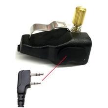 New Audio Adapter for Kenwoode Handheld Radios for TK 385 TK 380 TK 3140 TK 3180 NX 200 NX 300