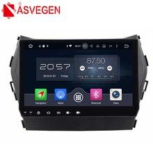 """Asvegen 9 """"Android 6.0 Quad Core Gps de Navegación Multimedia Para HYUNDAI Santa Fe IX45 Con Espejo enlace wifi Bluetooth"""