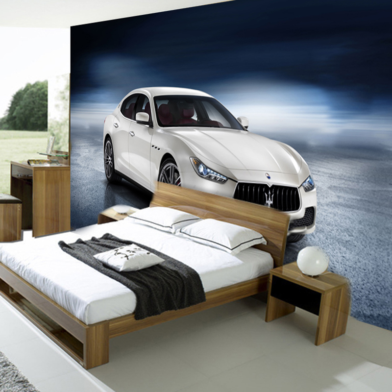 Custom Any Size Car Posters Magazine Sports Cars Mural Wallpaper Bedroom  Living Room Sofa Background Photo Wallpaper Home Decor In Wallpapers From  Home ...