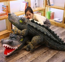 Simulation Crocodile Ocean Plush Toy Big Size Doll Pillow Creative Animal Decoration Kids toys for Children Girlfriend Gift