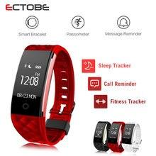 ECTOBE S2 Smart монитор Сердечного Ритма Браслет Мода Браслет Фитнес-Трекер Пульт Дистанционного Управления с Камеры Носимых умный браслет на Запястье