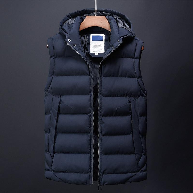 canada fashion vest men casual mens down jacket korean streetwear clothing overcoat dress male trench autumn winter coat for men (4)