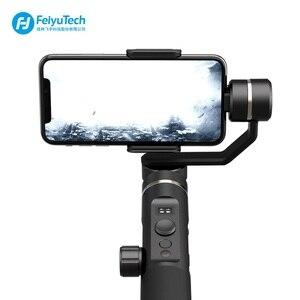 Image 4 - FeiyuTech Feiyu SPG2 3 Axis El Gimbal Sabitleyici Sıçrama geçirmez Tasarım Smartphone iphone Xs X 8 7 galaxy S9 + Gopro 7 6