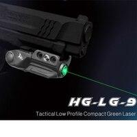 Laserspeed Laser Sight Green Oplaadbare Licht Gewicht Compact Tactical Gun Laser voor Glock 17 19 Zelfverdediging Wapens