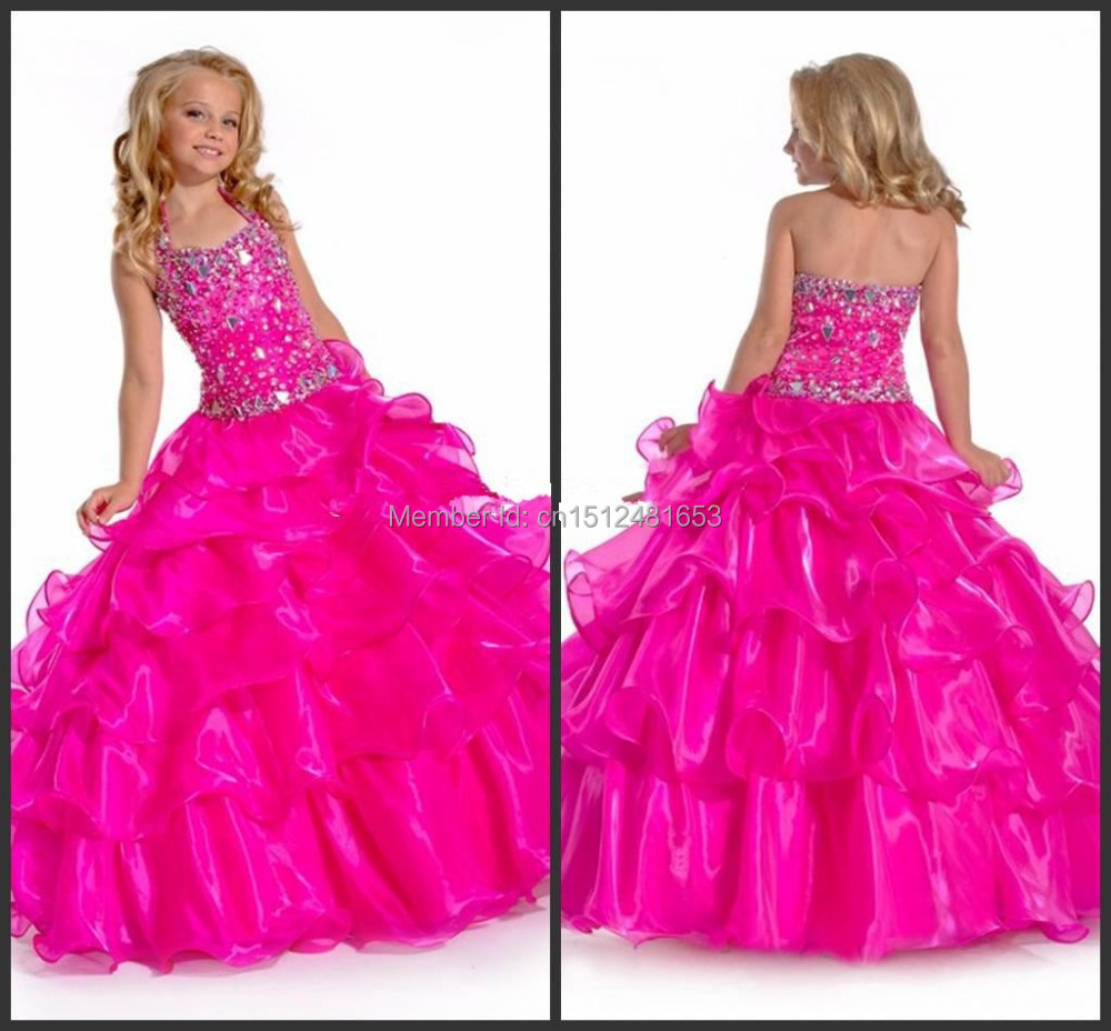 Compare Prices on Fuchsia Flower Girl Dresses- Online Shopping/Buy ...