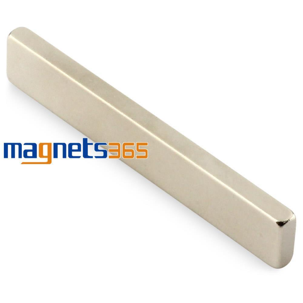 OMO Magnetics 5pcs Strip Block Cuboid Rare Earth Neodymium Magnets 60 x 10 x 4mm N50 Strong earth 2 society vol 4 life after death