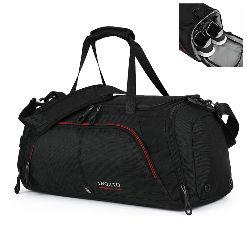 Women /& Men Foldable Travel Duffel Bag Angus Cattle Animal For Luggage Gym Sports