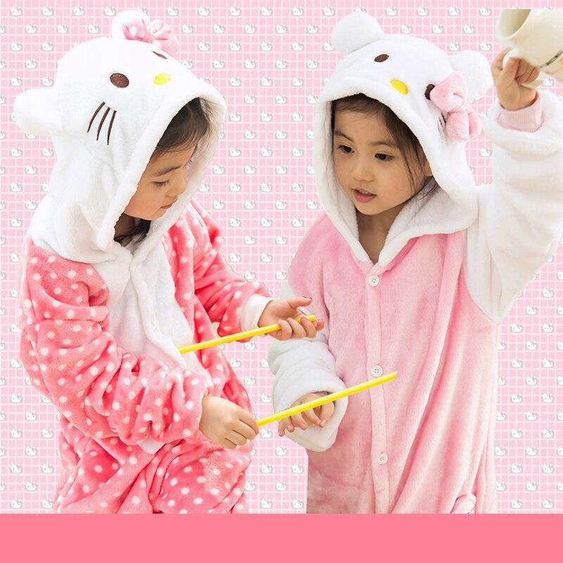 Kids Clothes Cosplay Animal Hooded Boys Girls Pajamas Childrens Clothing  Girl Blanket Sleeper Fleece Flannel Kids Clothing d10833b37