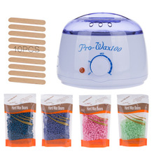 Professional Warmer Wax Heater Mini SPA Hand Epilator Feet Paraffin Wax Machine Temperature Control Depilatory Hair Removal Tool professional single wax warmer heater spa hand epilator foot paraffin wax machine depilatory hair removal tool beauty care new
